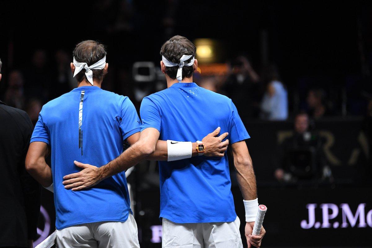 La dupla histórica formada por Nadal y Federer doblega a Sock y Querrey