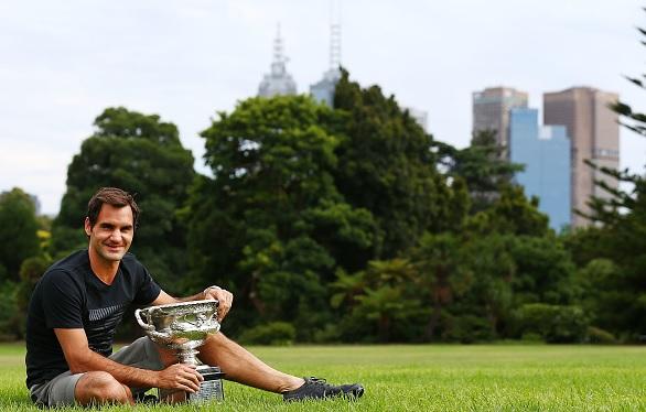 """Federer: """"No me imaginaba que podría volver a ganar aquí"""""""