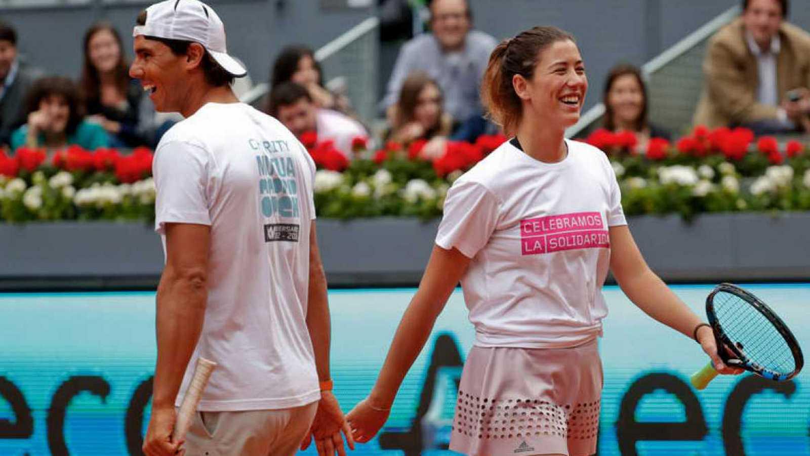 Rafael Nadal y Garbiñe Muguruza, los mejores del mundo