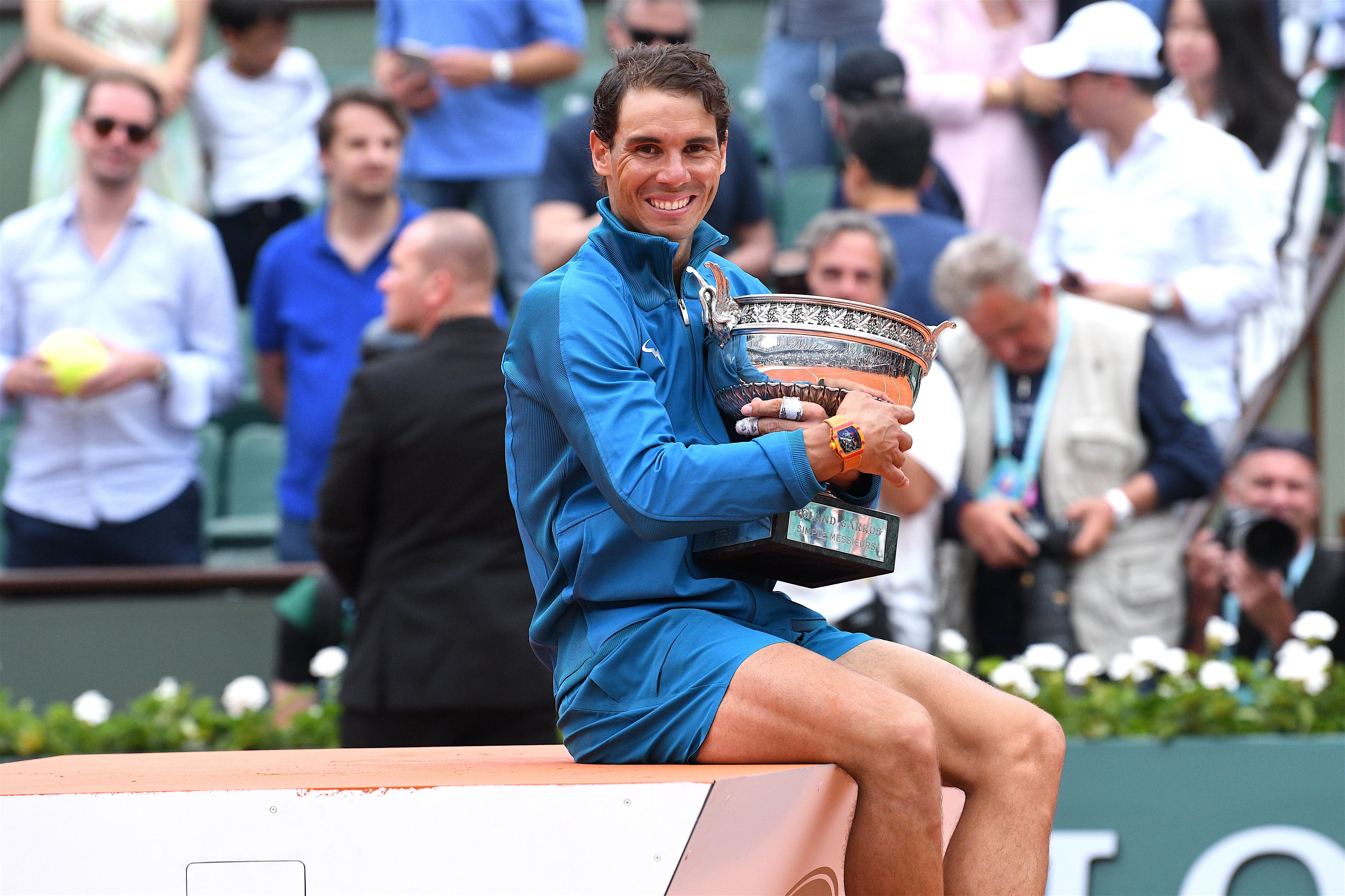 Nadal, el rey de la tierra batida, alza su 11° Roland Garros