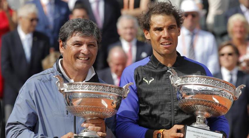 """Toni Nadal: """"Nunca me hubiese imaginado que ganaría once veces aquí"""""""